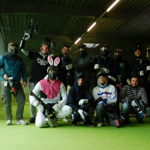 Paintball-Junggesellenabschied Olpe Hase