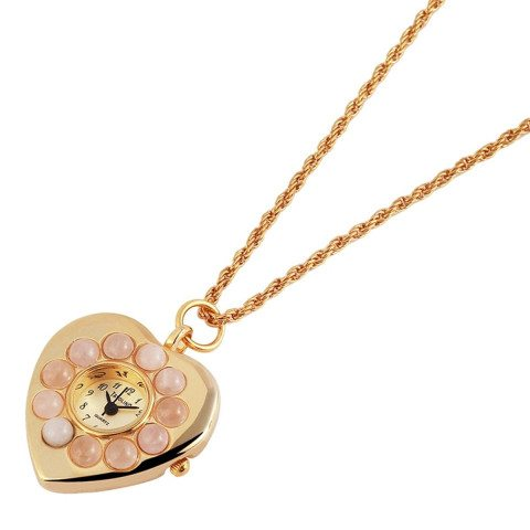 PERSONALIZED NECKLACE HEART COLLIER WATCH - Kette