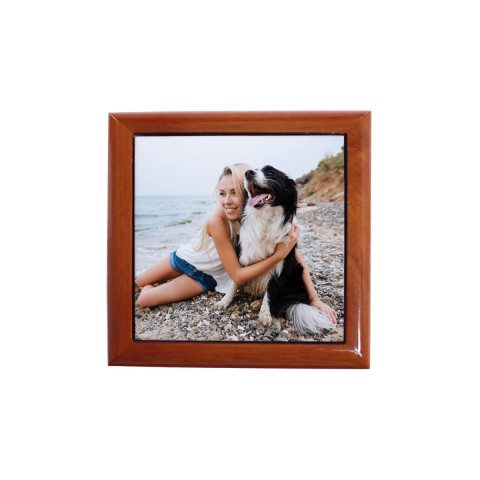 PERSONALIZED WOODEN BOX WITH PHOTO