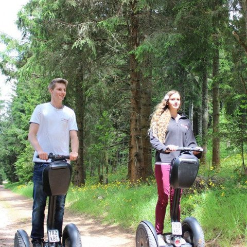 Segway-Panorama-Tour Schluchsee Wald