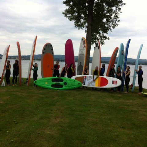 Stand-up-Paddling-Tour - Raum München