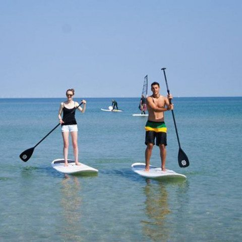 Stand-up-Paddling - Zingst