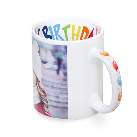 "TASSE MOTIV ""HAPPY BIRTHDAY"" MIT FOTODRUCK"