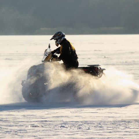 Winter Quadtour am Bodensee Radolfzell