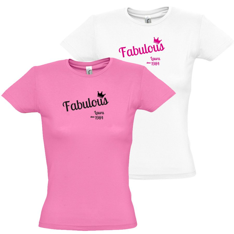 Damen T Shirt Fabulous