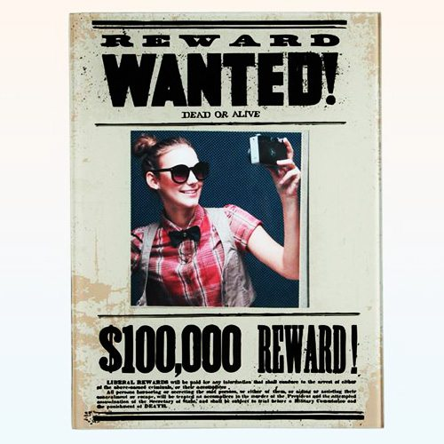 Glasrahmen Wanted