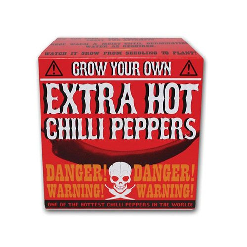 Grow your own extra scharfer Chili