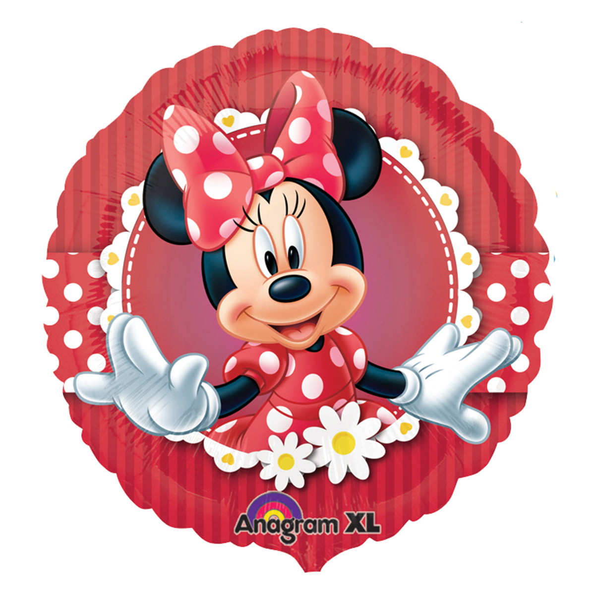 Helium Luftballon Minnie Mouse