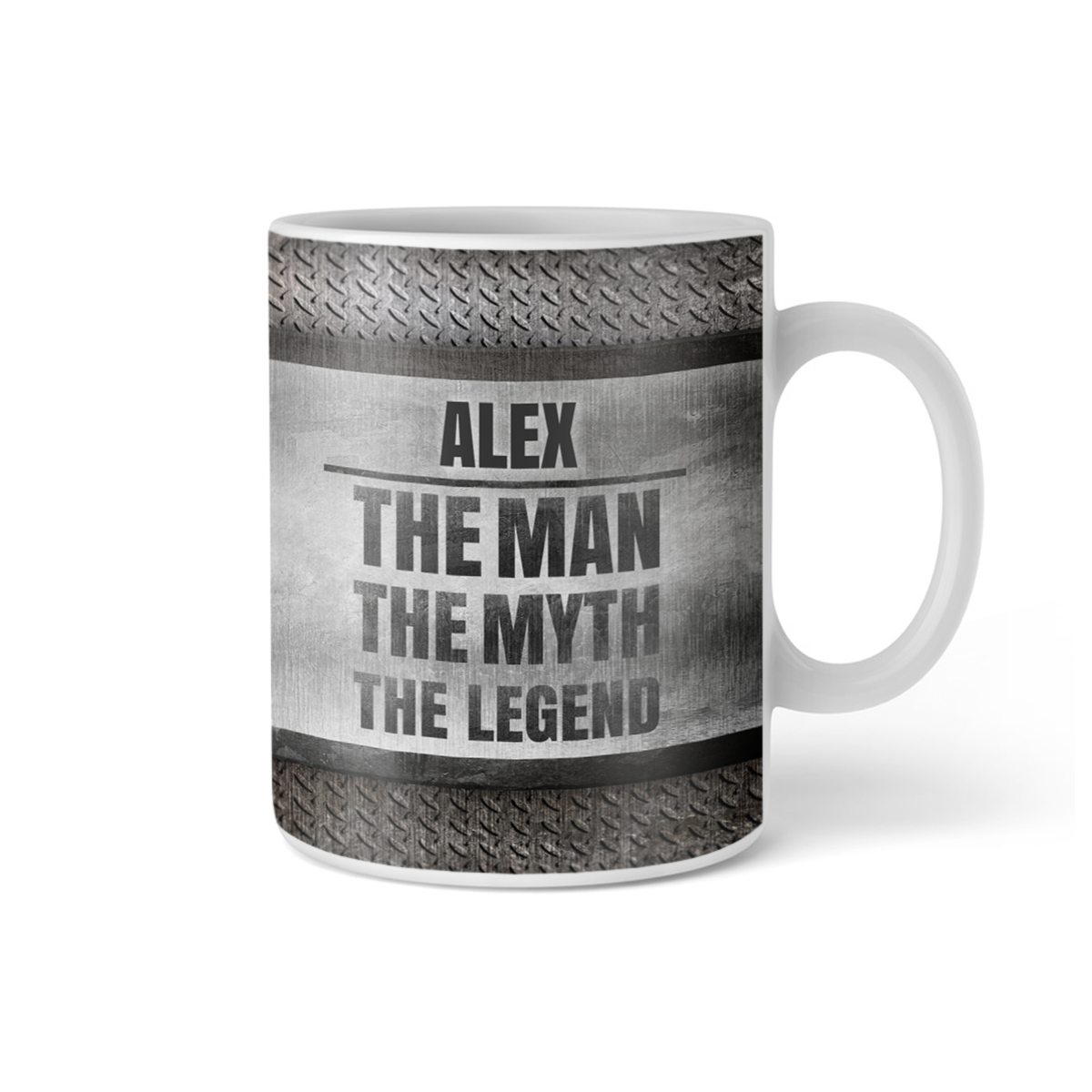 Tasse The Legend mit Namen