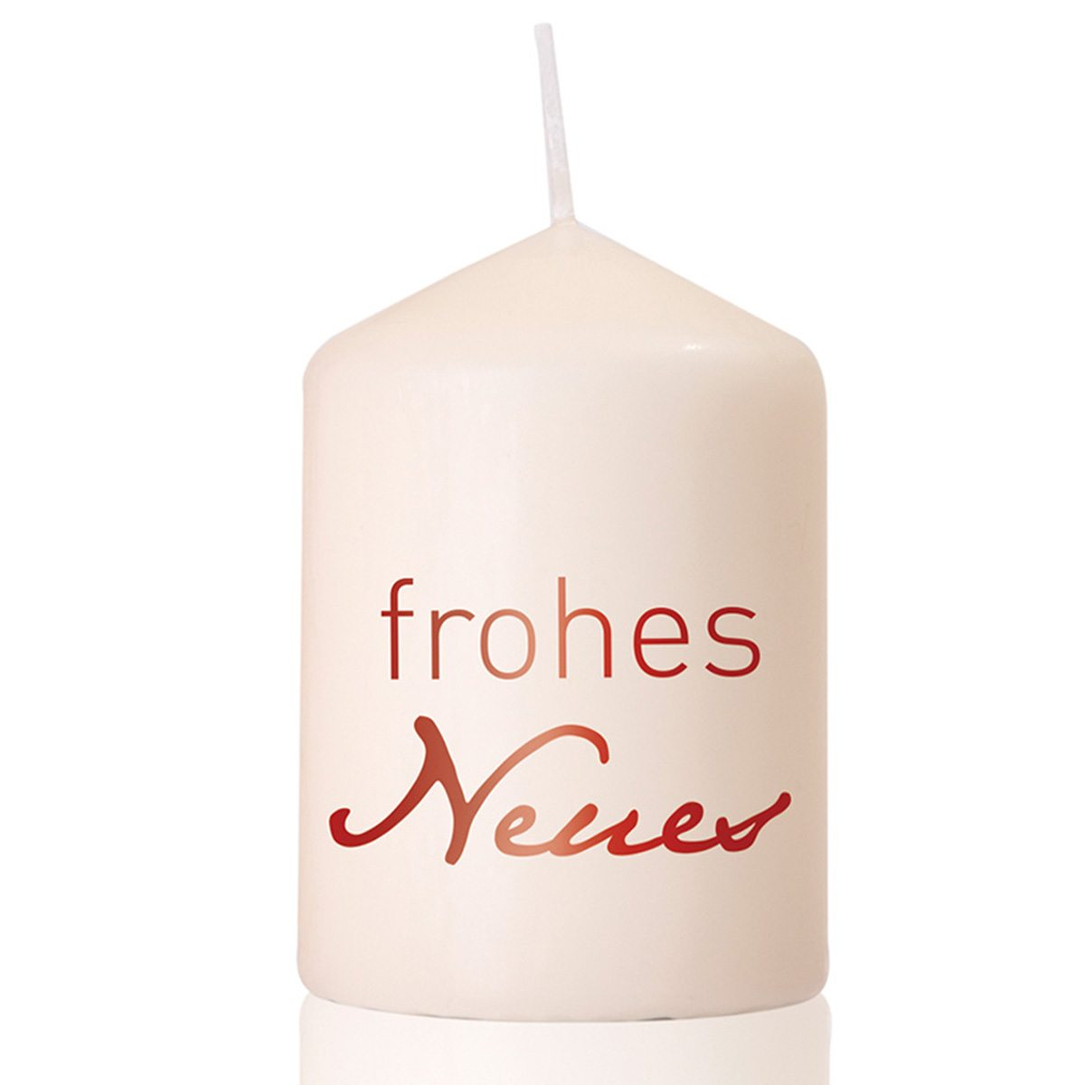 Kerze Frohes Neues