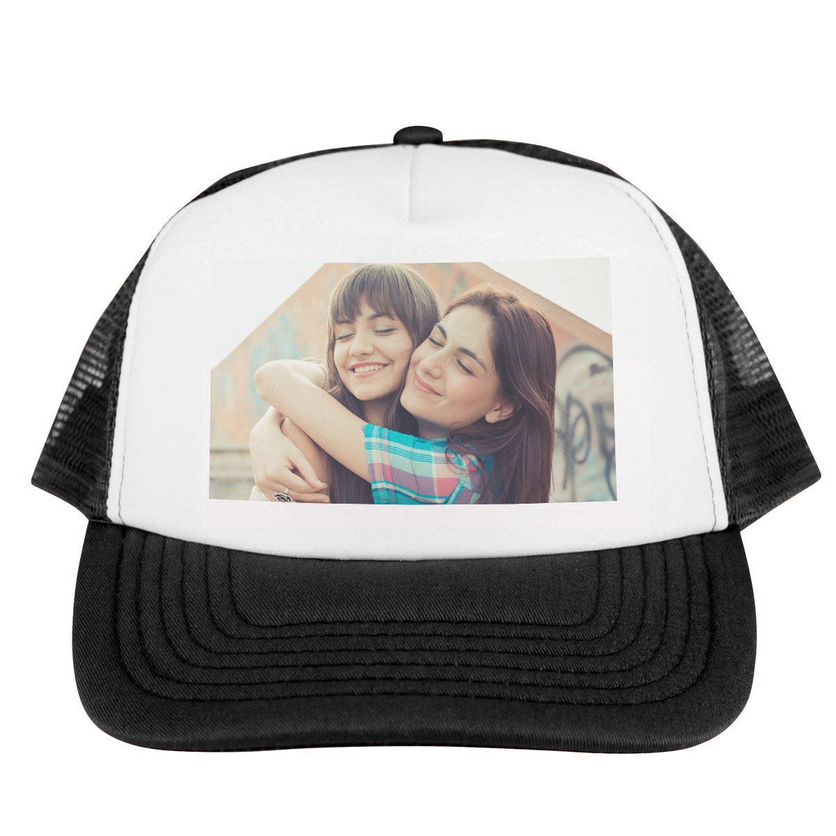 Stylishes Trucker Cap mit Foto
