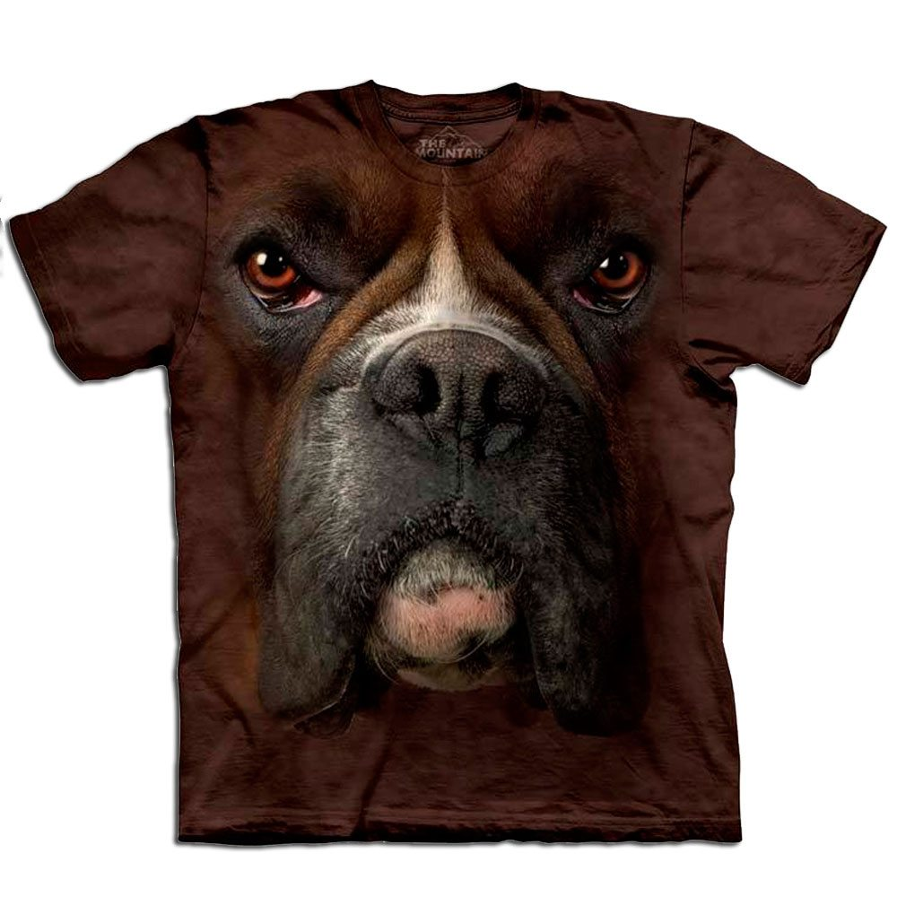 T Shirt Big Face Boxer