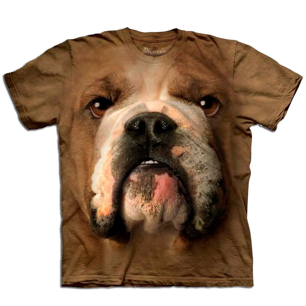 T Shirt Big Face Bulldogge