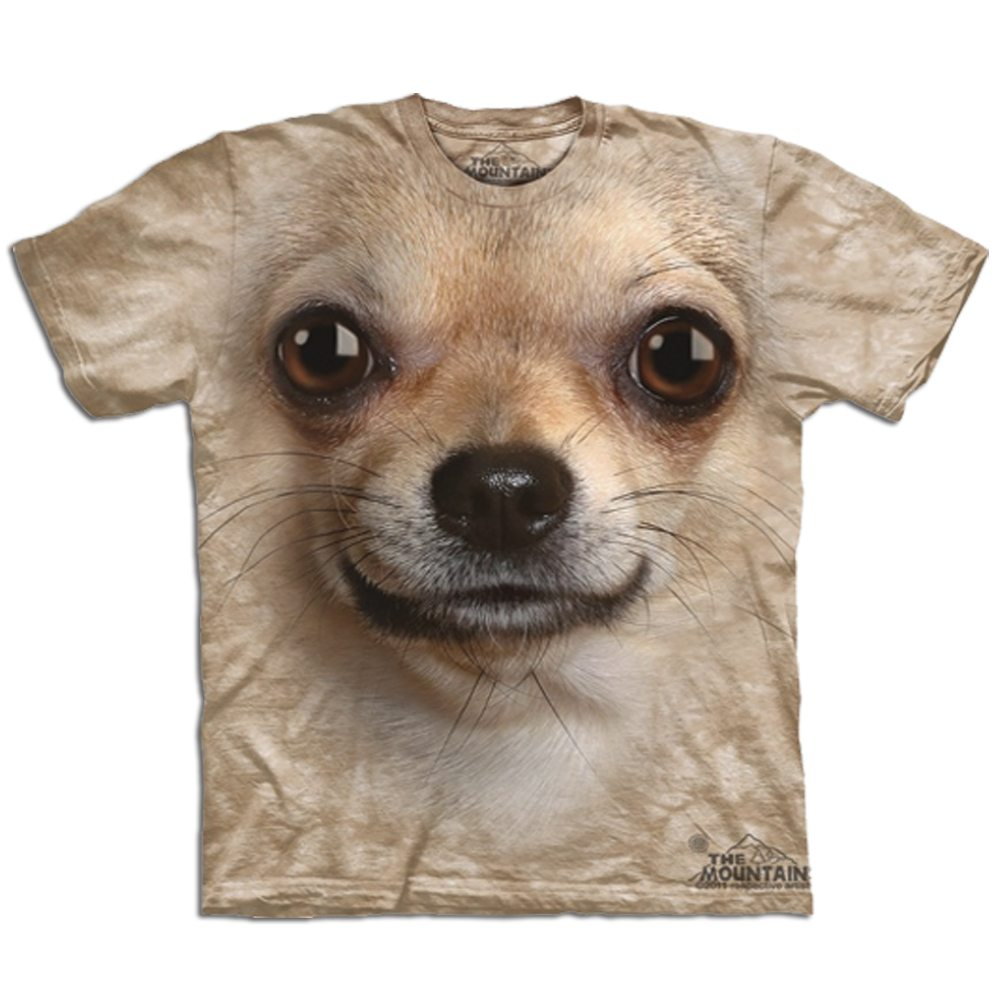 T Shirt Big Face Chihuahua