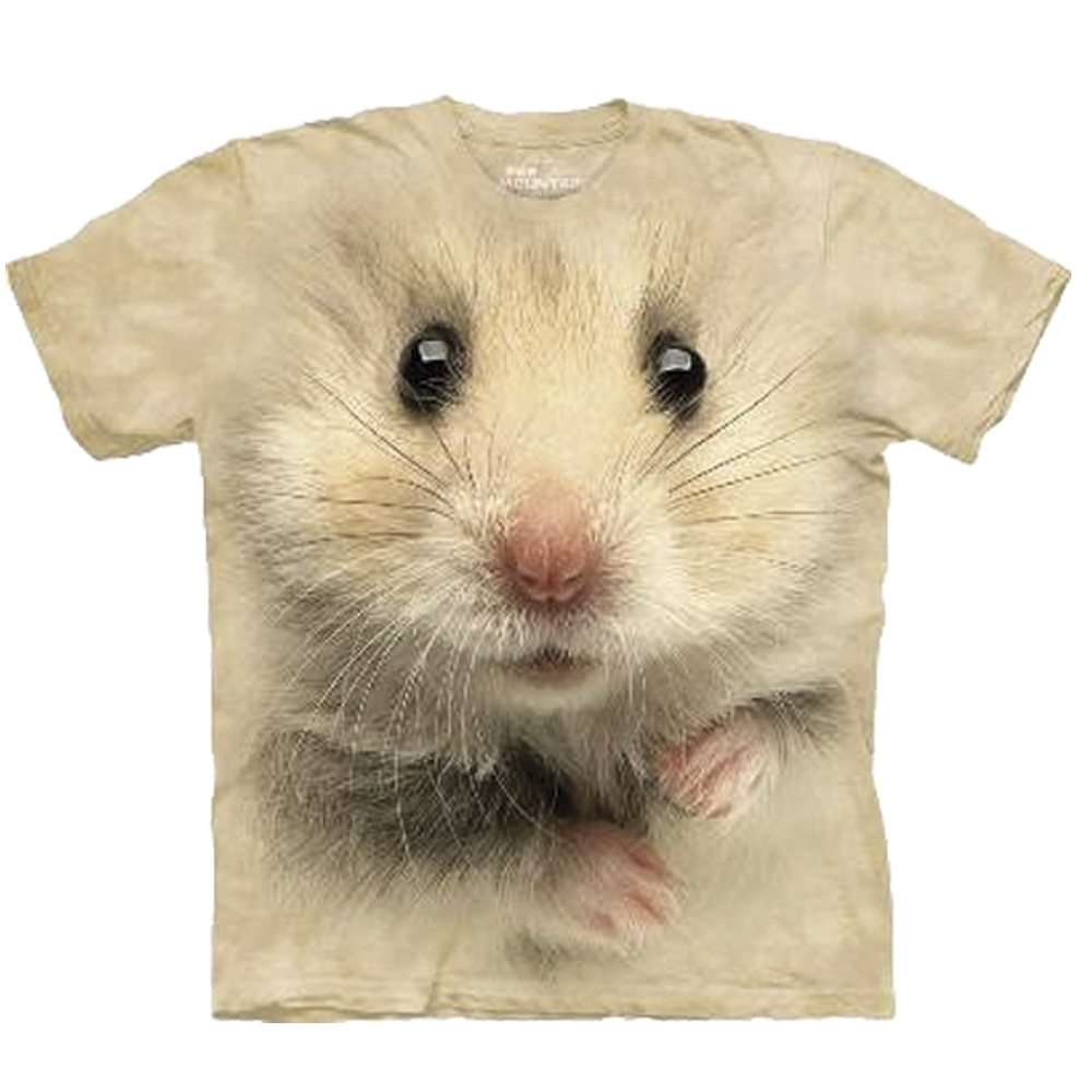 T Shirt Big Face Hamster
