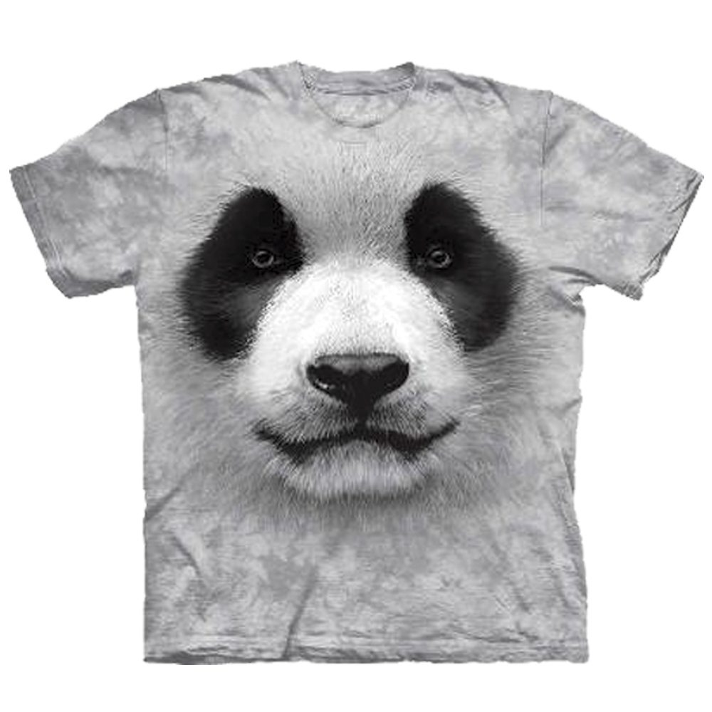 T Shirt Big Face Panda