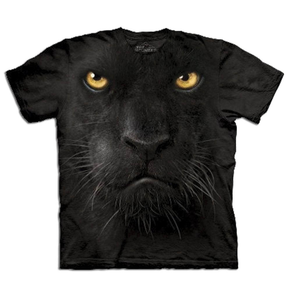 T Shirt Big Face Panther