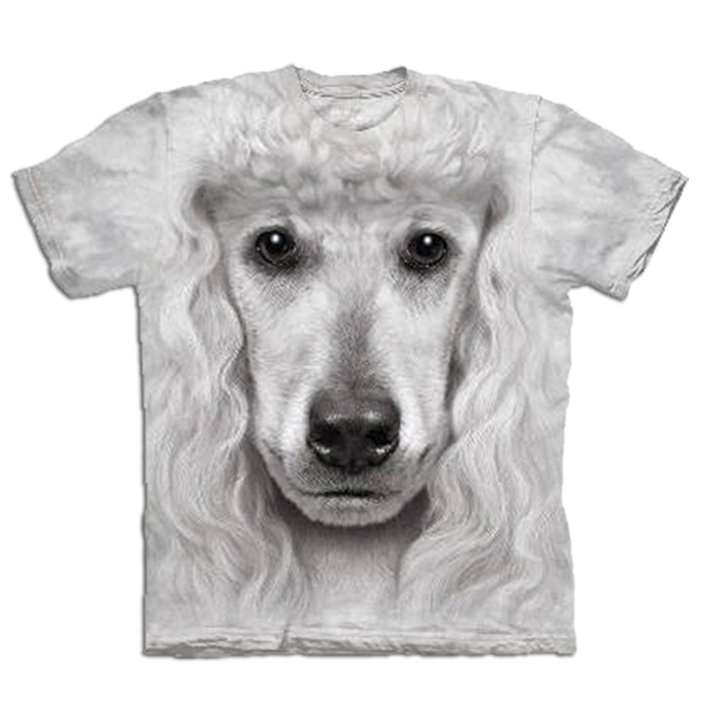 T Shirt Big Face Pudel