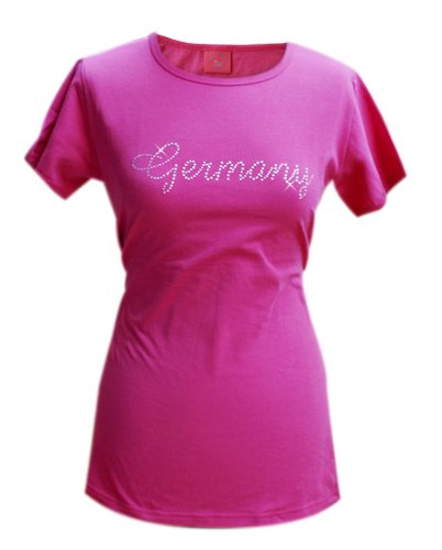 Tussi on Tour Girlie Shirt mit Strass